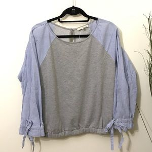 June and Hudson Sweater Blouse